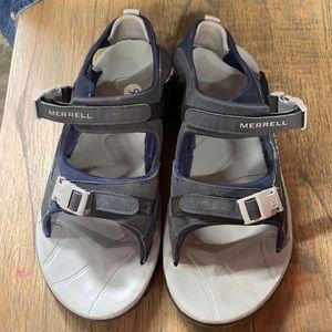 Size 9 Merrill Sandals Vibram Continuum Men's